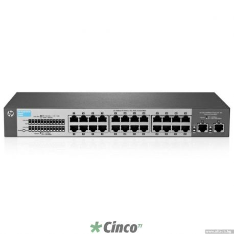 Switch HP JD369A A5500-24G SI c/ 2slots de interface