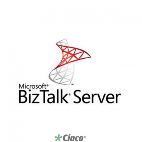 Licença perpétua Open Microsoft BizTalk Server Developer 2013 R2 SNGL OPEN 1 License No Level R04-01108
