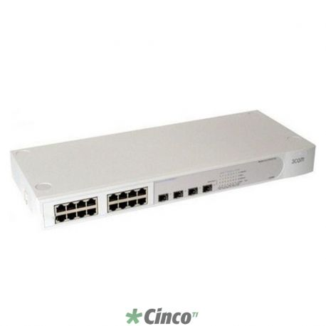 Switch Baseline 2816 SFP Plus - 16x 10/100/1000 Mbps (RJ45) + 4x mini-GBIC