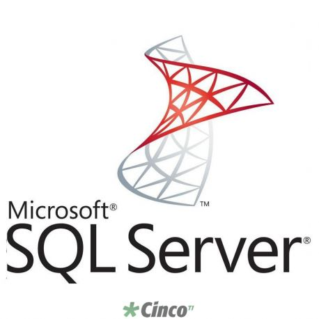 Licença SQL Server Standard 2014 Single Open
