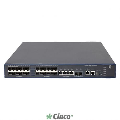 Switch 5500-24G-SFP HI with 2 Interface Slots